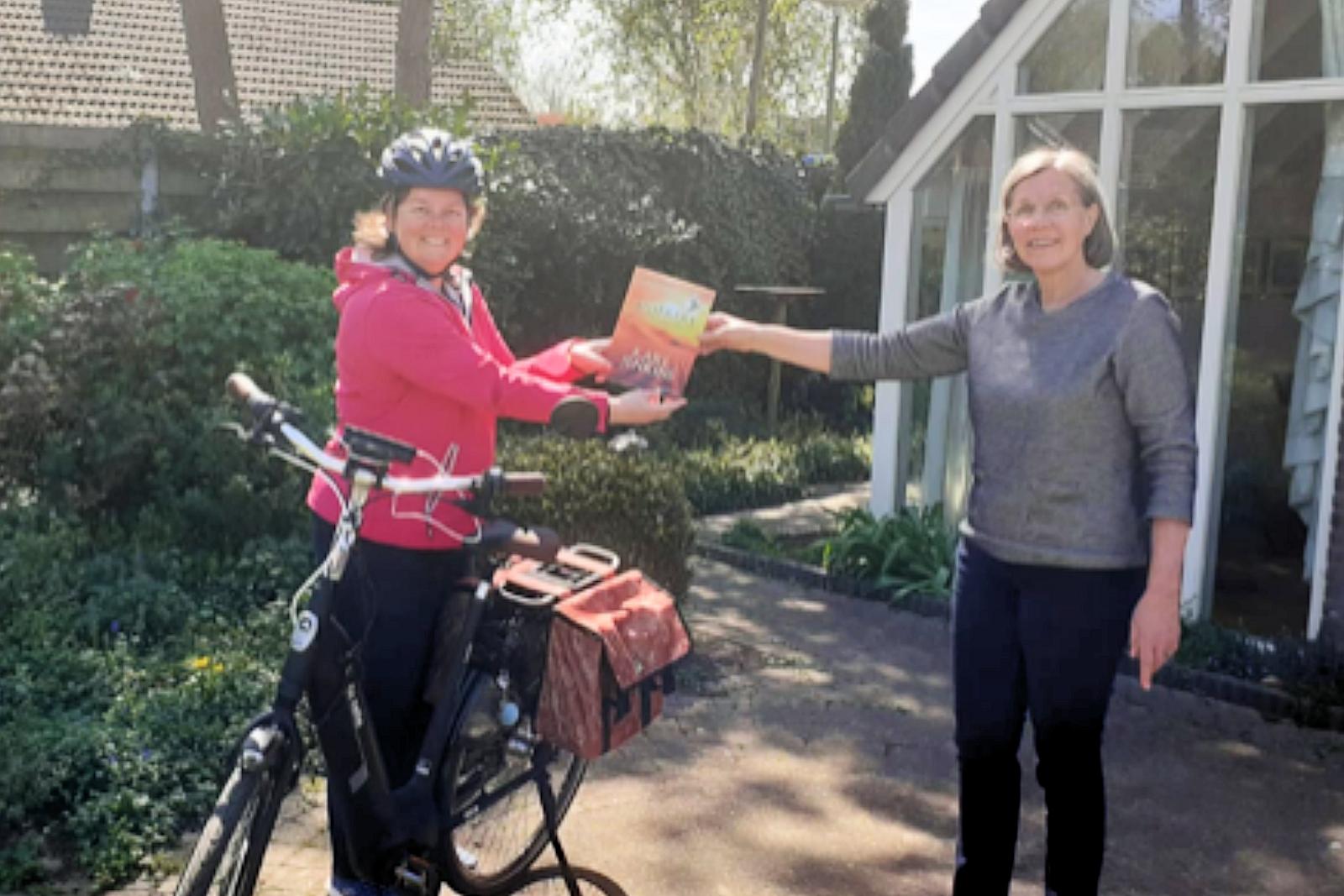 24 april 2020 – Miserere van Karl Jenkins per fietskoerier